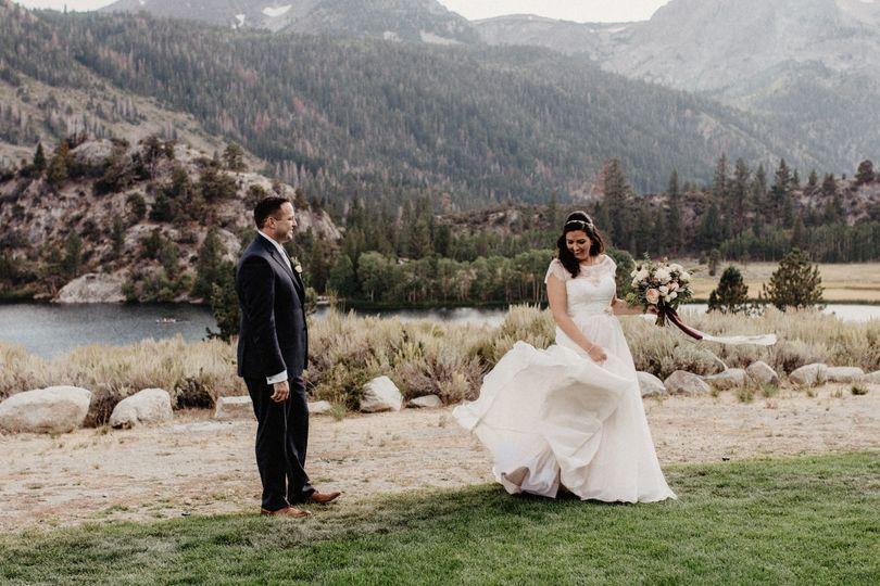 June Lake Wedding Lisa Fitts Photography