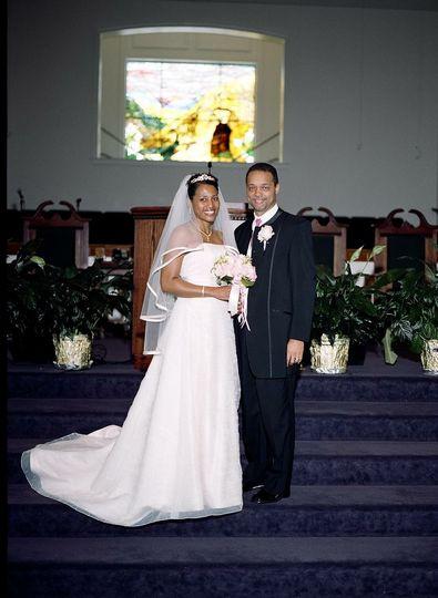 Speeler wedding - the happy couple