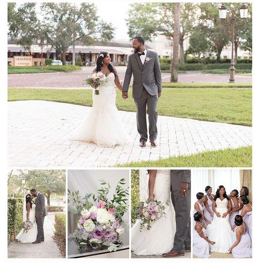 Ebony & RanellMarried at Crystal Ballroom Veranda | Unashamed Imaging Photography & Videography