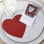 Heart Clip magnet with custom card