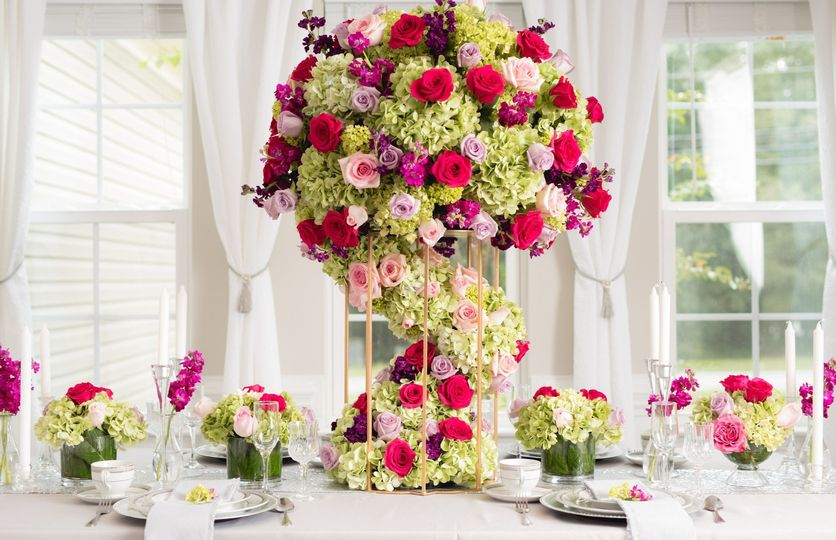 Luxurious Tall Centerpiece