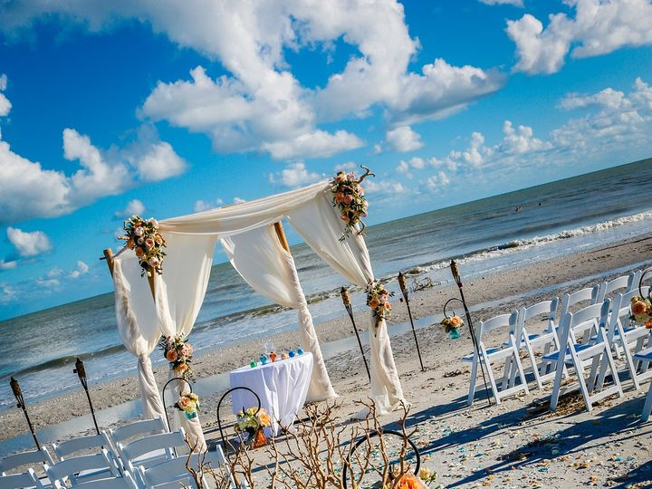 Tmx 1465513548489 Decorated Branches Arch In Back Sanibel, Florida wedding florist