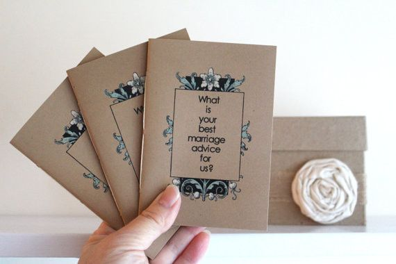 Conversation booklets are not only fun for the guests but they are wonderful for preserving memories...