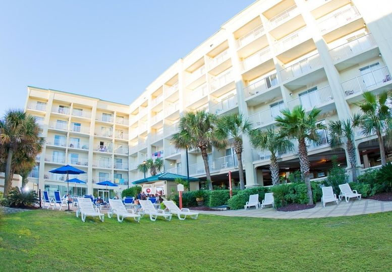 Hilton Garden Inn Orange Beach Beachfront Venue Orange Beach Al Weddingwire