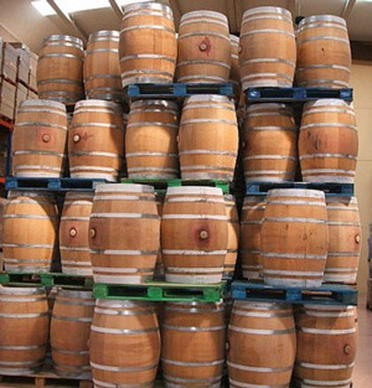 Selection of Wine Barrels
