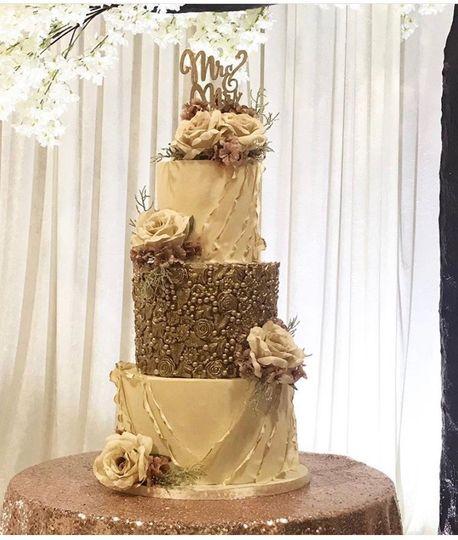 Lovely wedding cake