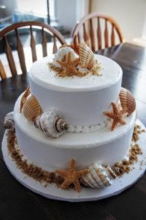 Tmx 1476820861948 Cake.seashells.maxwellwedding Brick, NJ wedding catering