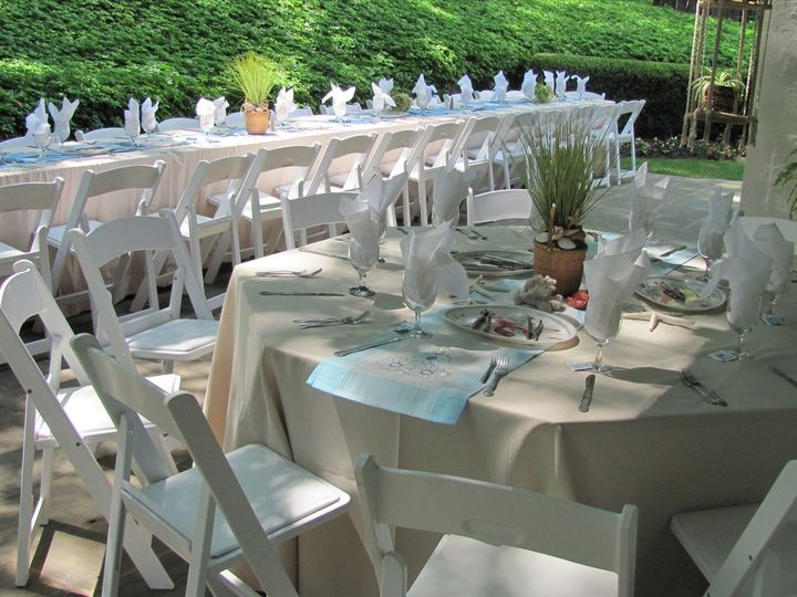 Tmx 1478368632679 Outdoors Wedding Table Setup Brick, NJ wedding catering