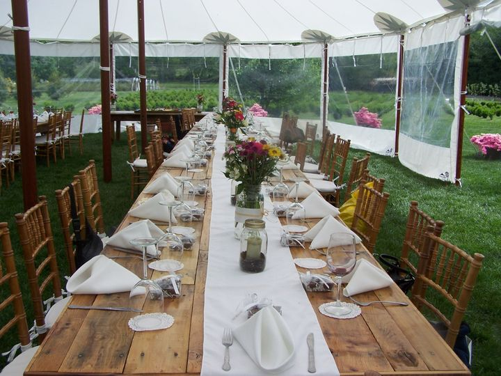 Tmx 1478368640900 Tent Table Wedding Setup Brick, NJ wedding catering