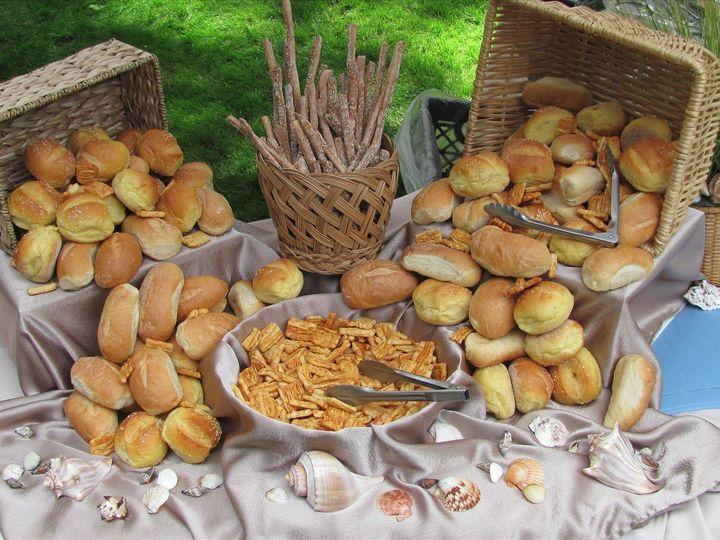 Tmx 1508425733560 Wedding Bread Setup Brick, NJ wedding catering