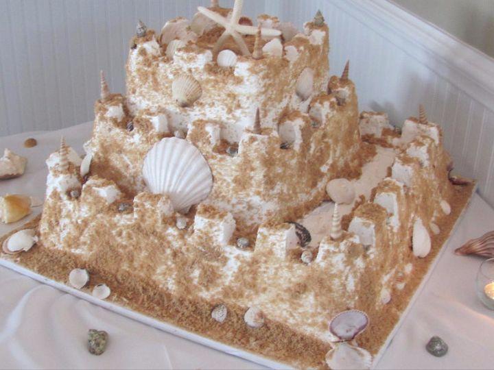 Tmx 1508434764035 Sandcastle20cake.jpg Brick, NJ wedding catering