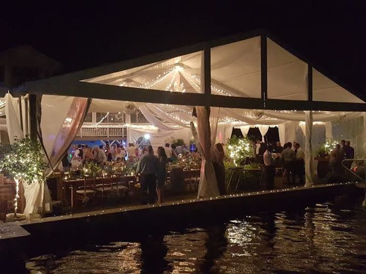 Tmx 1508942346890 Outside Tent Wedding Preview At Night Brick, NJ wedding catering