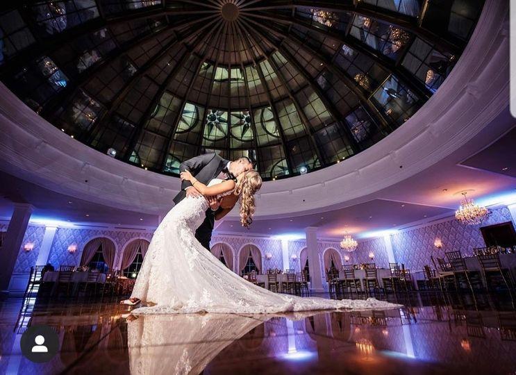 Dip your bride!