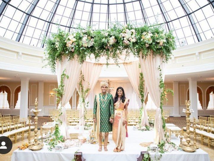 Tmx Skylight Mandap With Couple 51 2933 158102935070995 Riverton, NJ wedding venue