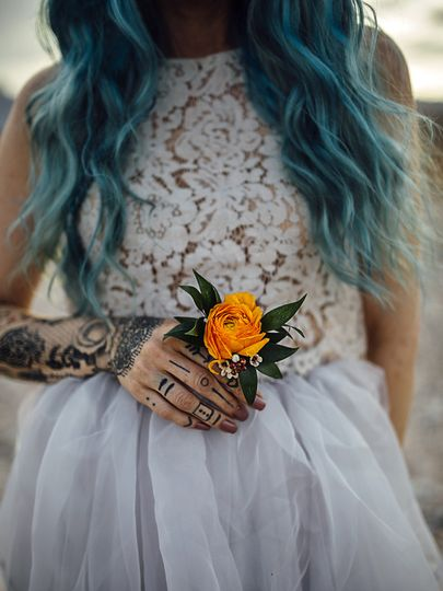 alternative bride tattooed las vegas philadelp
