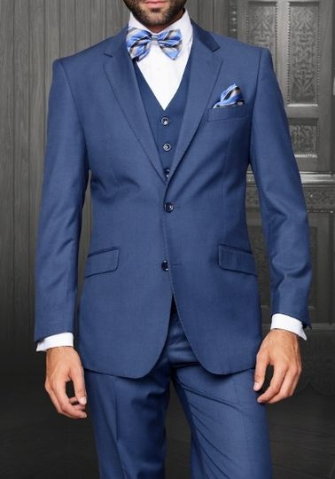 French blue suits