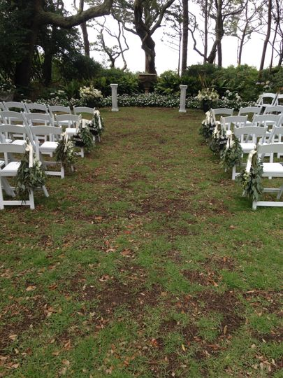 Yard weddings