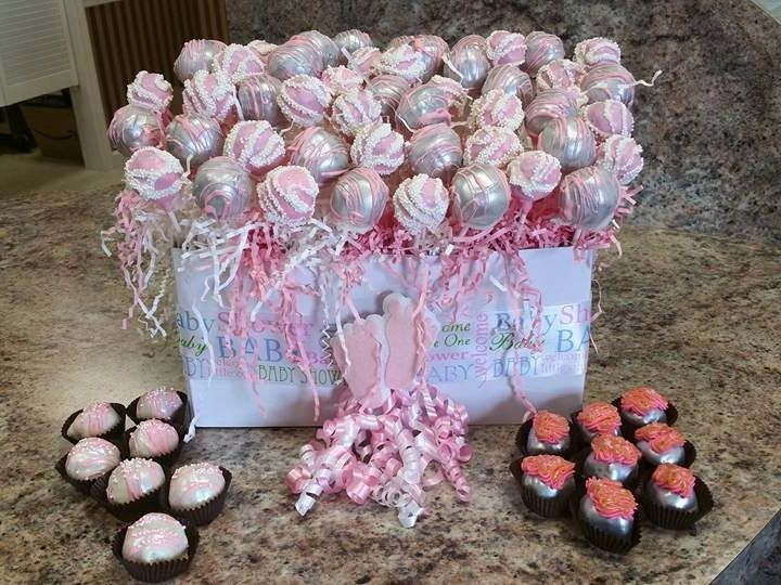 Tmx 1441176623056 Baby Shower Surprise Package Metamora wedding cake