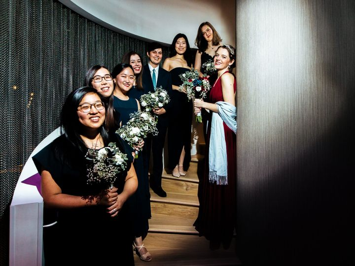 Tmx Wedding Party On The Stairs 51 1883933 161825273415643 Bethesda, MD wedding venue