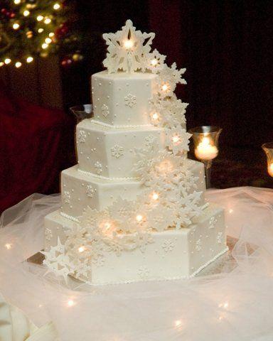Tmx 1219867306447 HexSnowfakes Lancaster wedding cake