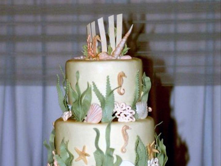 Tmx 1219878031545 Seascape Lancaster wedding cake