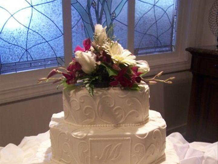 Tmx 1219882092342 Emeraldmonogram Lancaster wedding cake