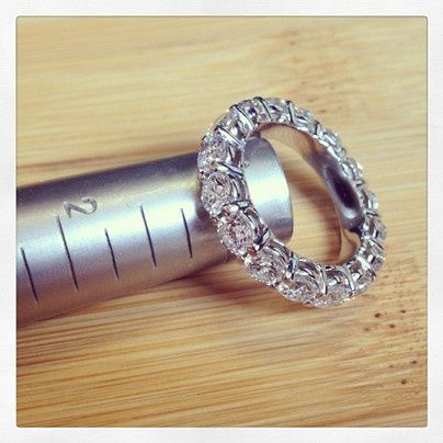 Tmx 1398964445577 Diamond Eternity Wedding Rin Los Angeles wedding jewelry