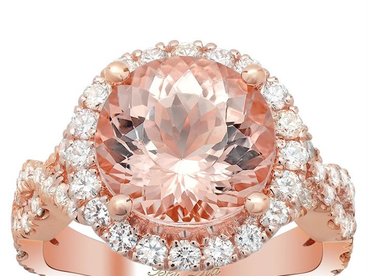 Tmx 1398965120801 Morganite Engagement Rin Los Angeles wedding jewelry
