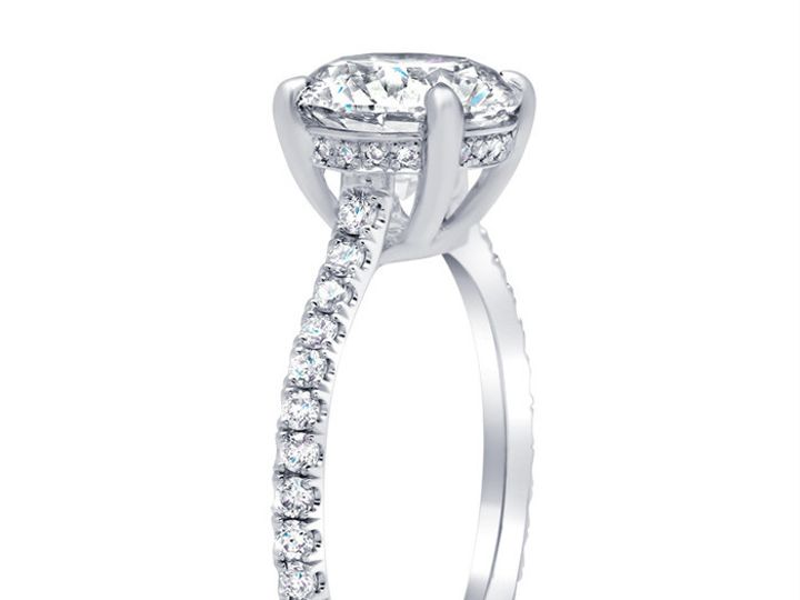 Tmx 1491587044063 Diamond Accented Diamond Engagement Ring 174 Los Angeles wedding jewelry