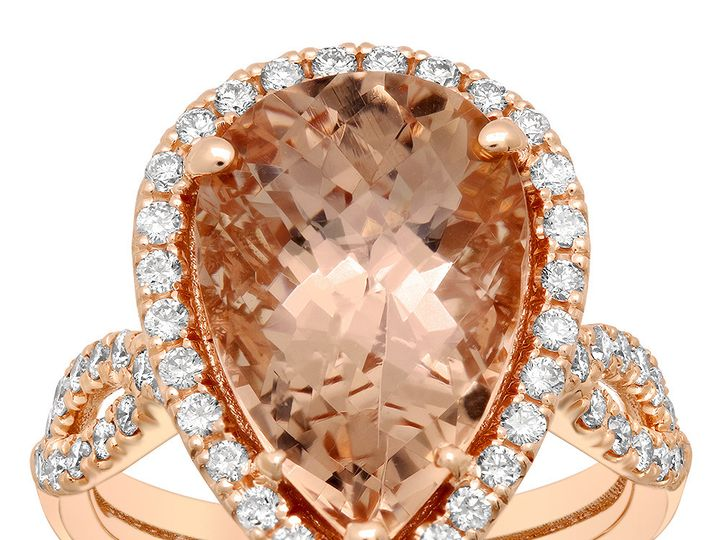 Tmx 1491587520385 Morganite Engagement Ring Los Angeles wedding jewelry
