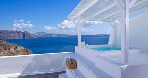 Beautiful Suite in Santorini Greece