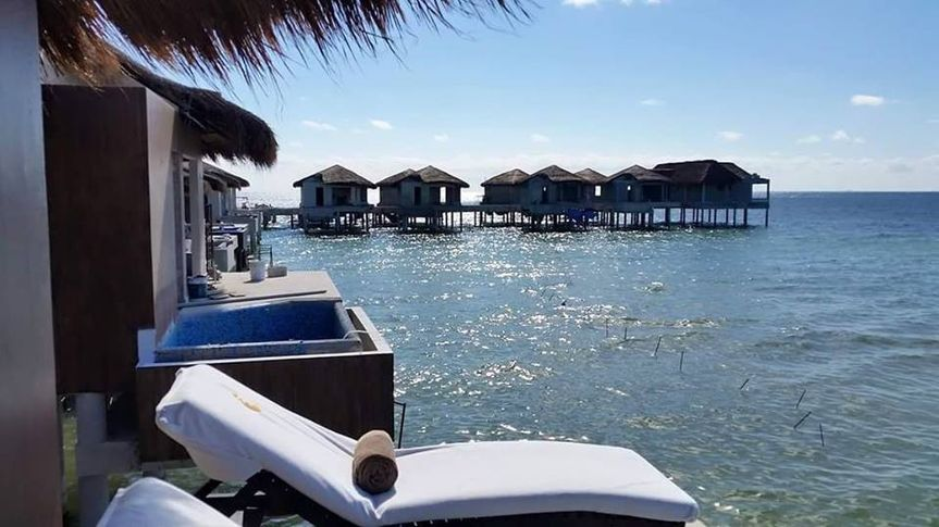 Overwater Bungalows in Mexico are a great fit for anyone!