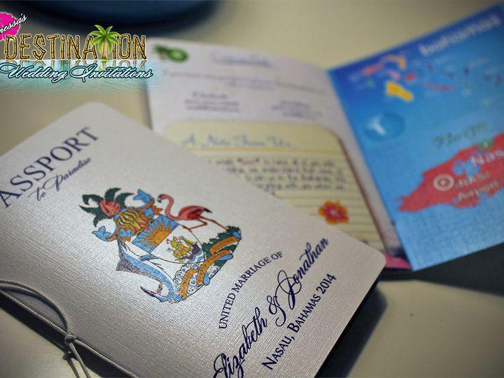 Tmx 1467301222662 Wedding Passports New White Pearl Lakeville wedding invitation