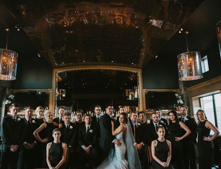 H Hotel wedding