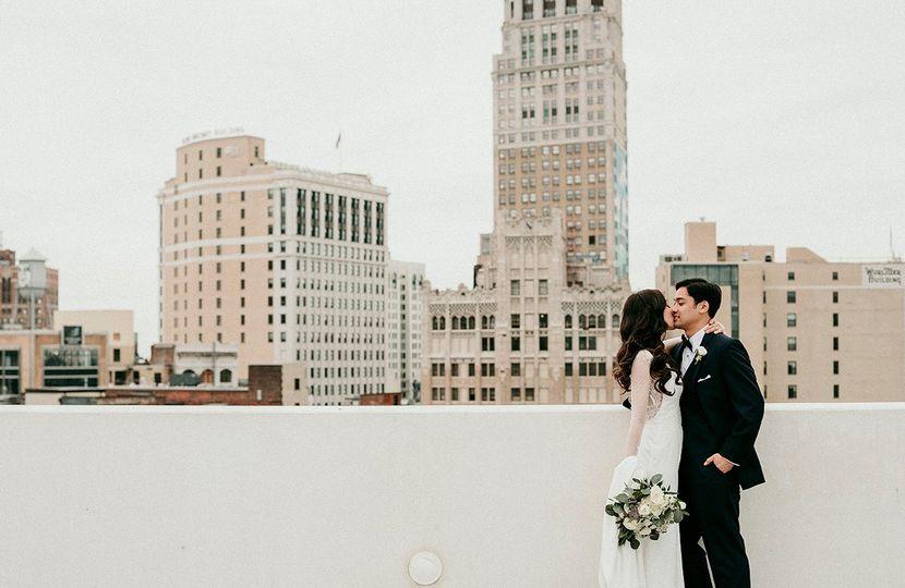Z lot wedding photos