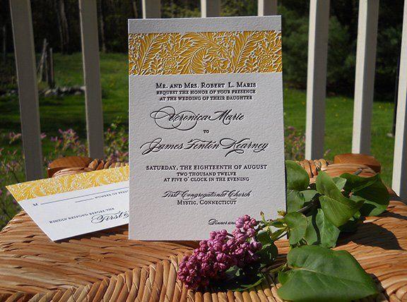 Tmx 1348767250515 1WMorrisGold Salem wedding invitation