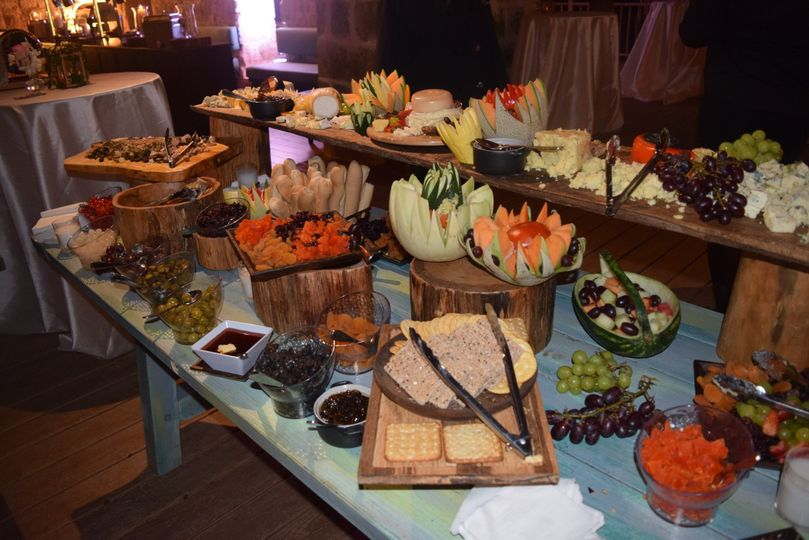 Fruits & Cheese Table