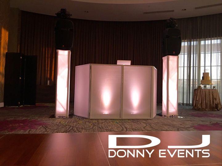 DJ station set-up