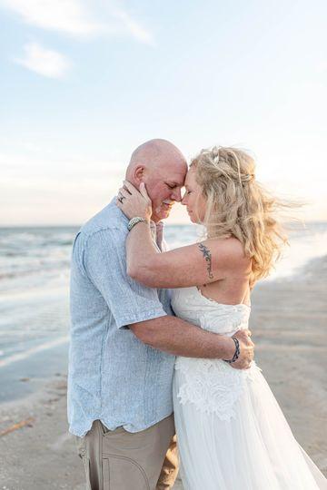 Romantic beach vibes