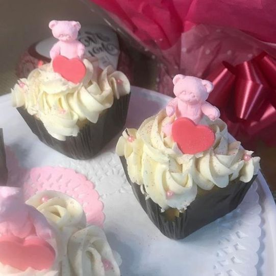 Cupcakes with bears