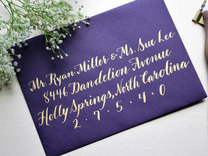 Tmx 1530203997 0bf9ee972f8abe95 DSC 0050 Raleigh, North Carolina wedding invitation