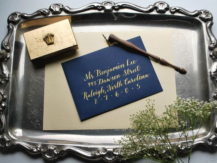 Tmx 1530204040 A6d34cb08741a381 1530204039 32a3aad293f1321e 1530204037351 6 DSC 0062 Raleigh, North Carolina wedding invitation