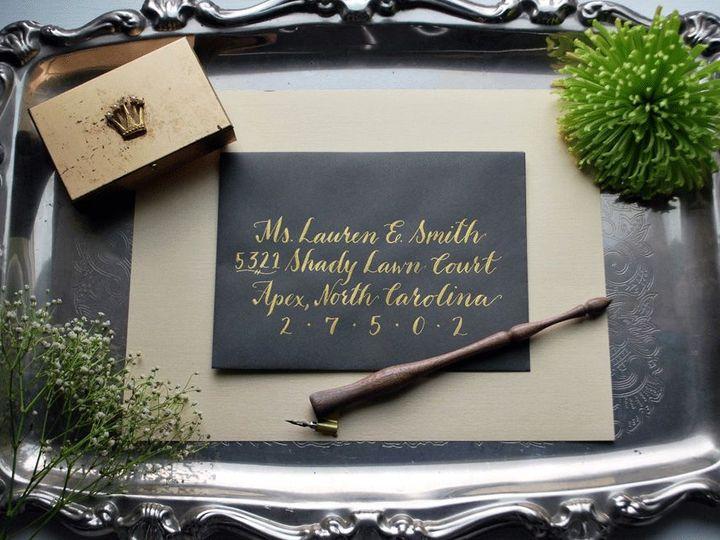 Tmx 1530204040 C0c5843ec0649c88 1530204039 A3af5fcd3c11e985 1530204037270 2 DSC 0015 Raleigh, North Carolina wedding invitation