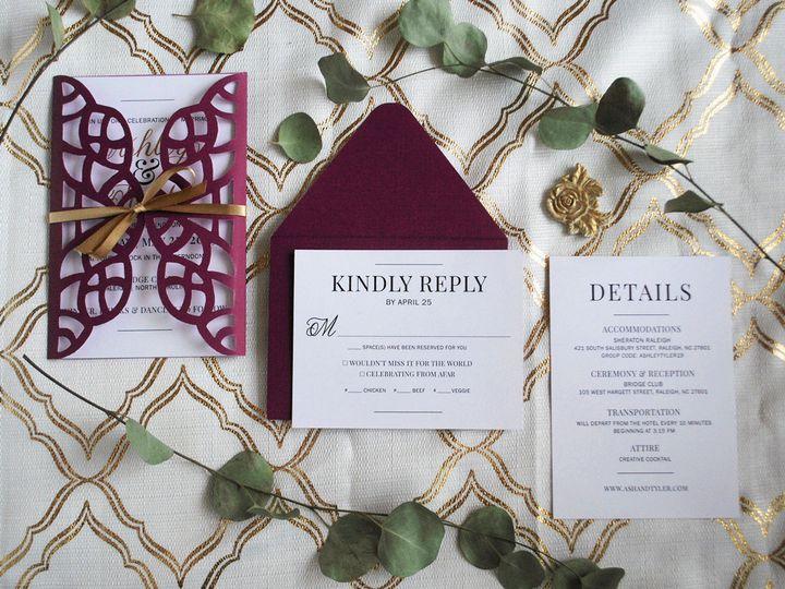 Tmx Portfolio 11 51 1010043 Raleigh, North Carolina wedding invitation