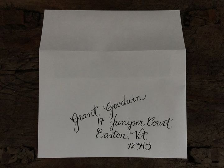 Tmx 1 Customcalligraphyenvelopes A 51 1020043 Moorestown, New Jersey wedding invitation