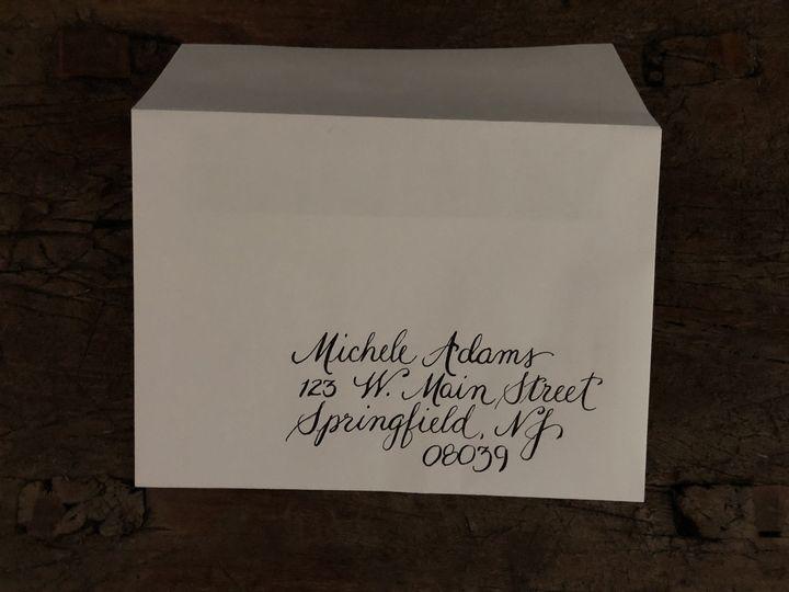 Tmx 1 Customcalligraphyenvelopes B 51 1020043 Moorestown, New Jersey wedding invitation