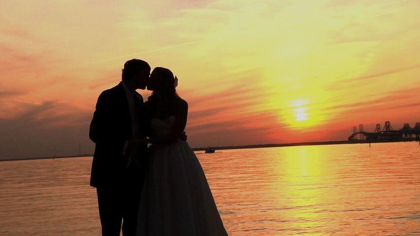 Sunset at Chesapeake Bay Beach Club