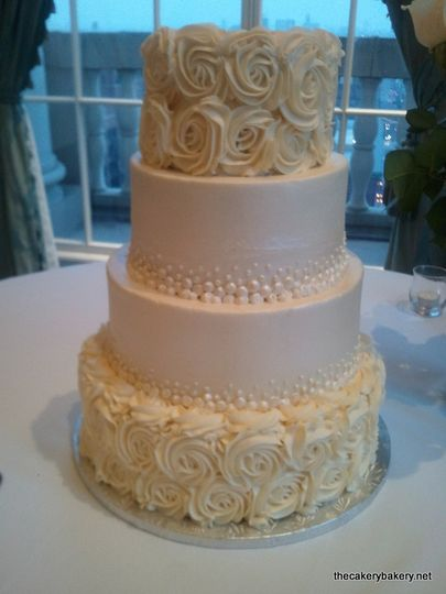 the cakery bakery wedding cake saint louis mo weddingwire