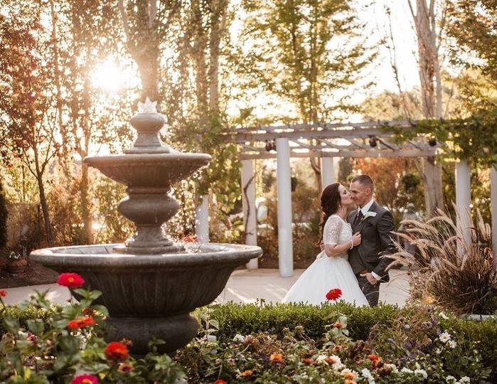 Northampton House fountain