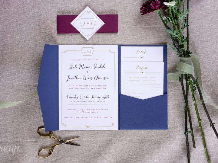 Tmx 1521832894 A836d4c80faae6f0 1521832893 Fb1574e032f1268f 1521832893016 7 20180316  DSC9006 Ann Arbor wedding invitation